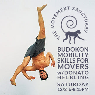 2017 - 12/02 - 6-8:15PM - Budokon Mobility Skills for Movers @MOVEMENT SANCTUARY, SAINT PETERSBURG, FL