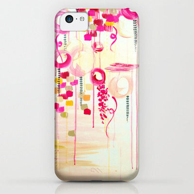 Hot Pink Flair Cell Phone Case