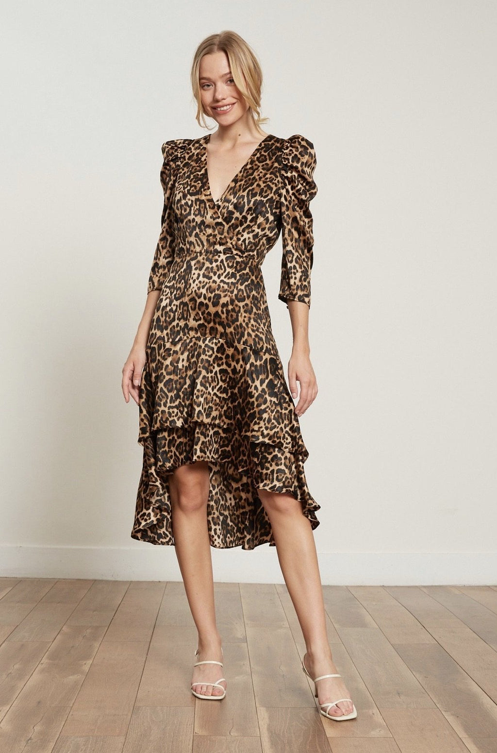 Drew Leopard Dress Lucy Paris