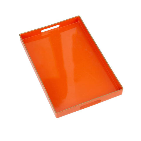 BRIGHT ORANGE TRAY