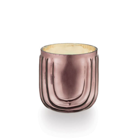 PINK PINE PRESSED GLASS