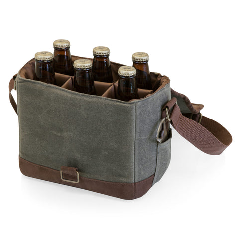 BEER CADDY – KHAKI/BROWN