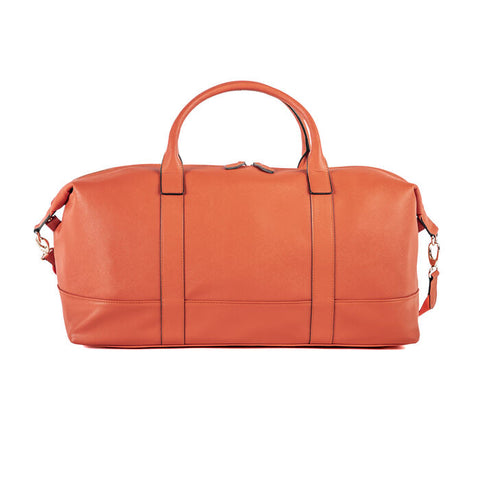 ALEXA DUFFEL BAG ORANGE PERSONALIZED