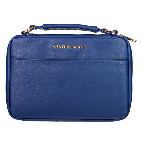 BIBLE COVER NAVY