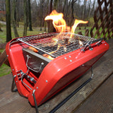 PORTABLE BBQ RED