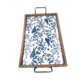 ENAMEL BIRD TRAY