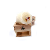 BEESWAX VOTIVE CRATE WHITE