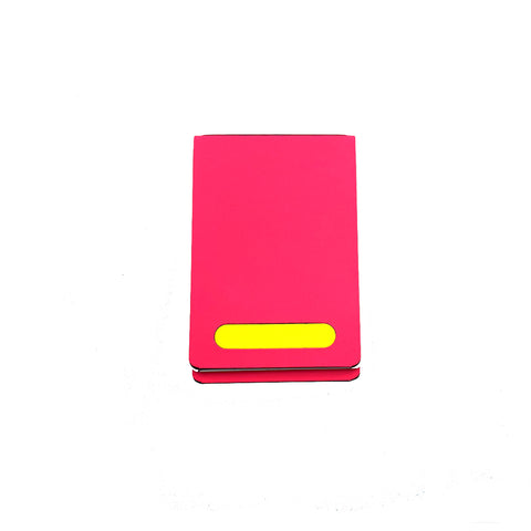 NOTEPAD NEON PINK PERSONALIZED