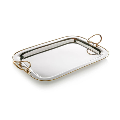 NIKEL GOLD TRAY