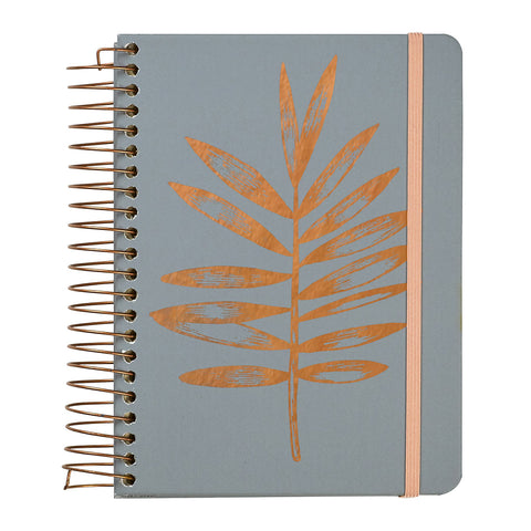 HARDCOVER COPPER LEAF