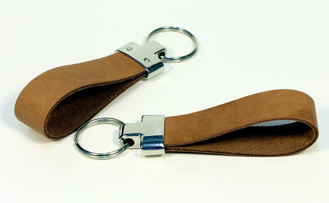 T-LEATHER KEYCHAIN PERSONALIZED