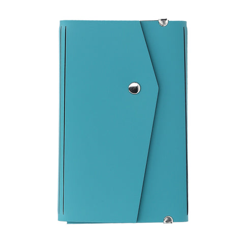 PASSPORT WALLET AQUA PERSONALIZED