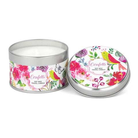 CONFETTI TRAVEL CANDLE