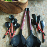 HORN WOOD SPOONS