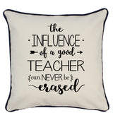 TEACHER CANVAS PILLOW