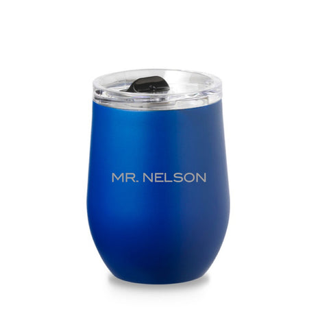 PERSONALIZED STEEL TUMBLER