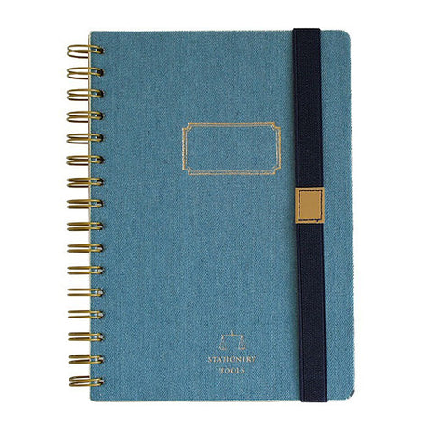 DENIM A5 NOTEBOOK