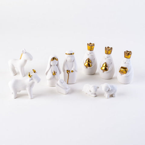 Nativity Porcelain