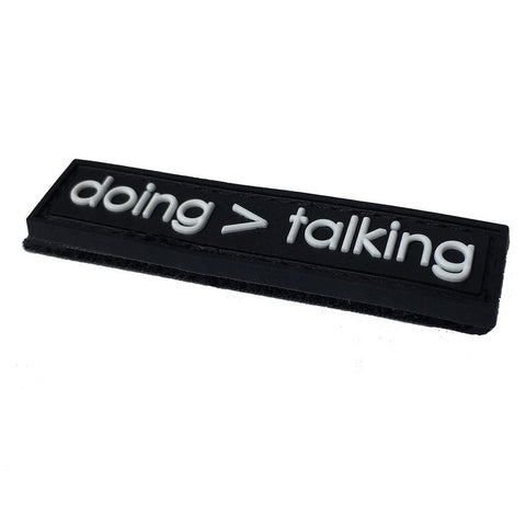 Doing > Talking