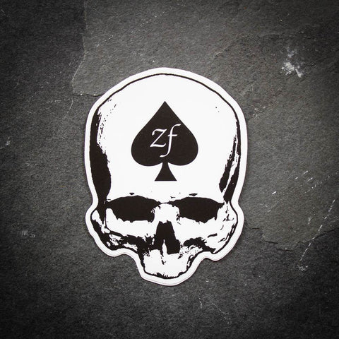 ZF Skull Sticker