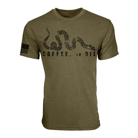Coffee or Die Olive
