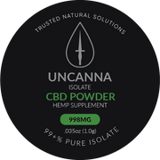 998mg Isolate CBD Powder
