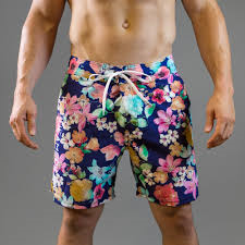 Blue Hawaiian Beach Shorts
