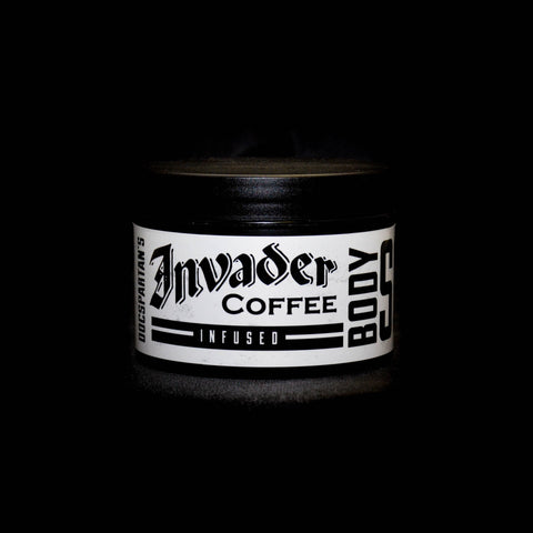 Invader Coffee Scrub