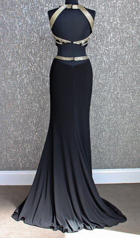 Black Two-Piece Prom Dress | Jovani - STYLE 24657
