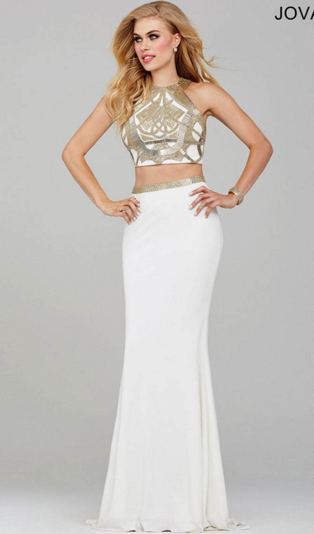 Two-Piece Prom Dress | Jovani - STYLE 24657 JOVANI- Schaffer's Bridal in Des Moines & Phoenix