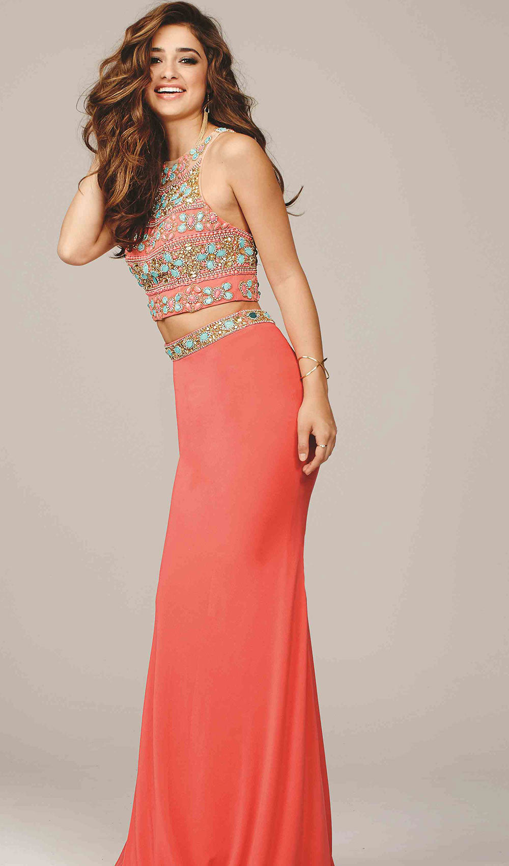 Two Piece Jersey | Jovani - STYLE 39350