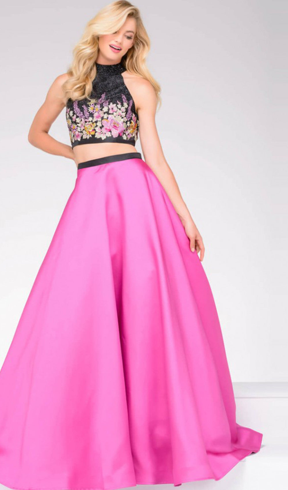 Gorgeous Contrasting Prom Dress | Jovani - STYLE 59350 | Schaffer's Bridal in Des Moines, Iowa