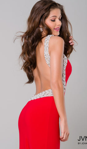 Embellished Red-Carpet-Ready Dress | Jovani - STYLE JVN47030