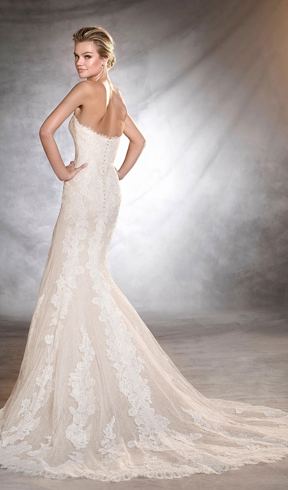 Pronovias - STYLE ORLAN| Schaffer's Bridal in Des Moines, Iowa and in Scottsdale, Arizona