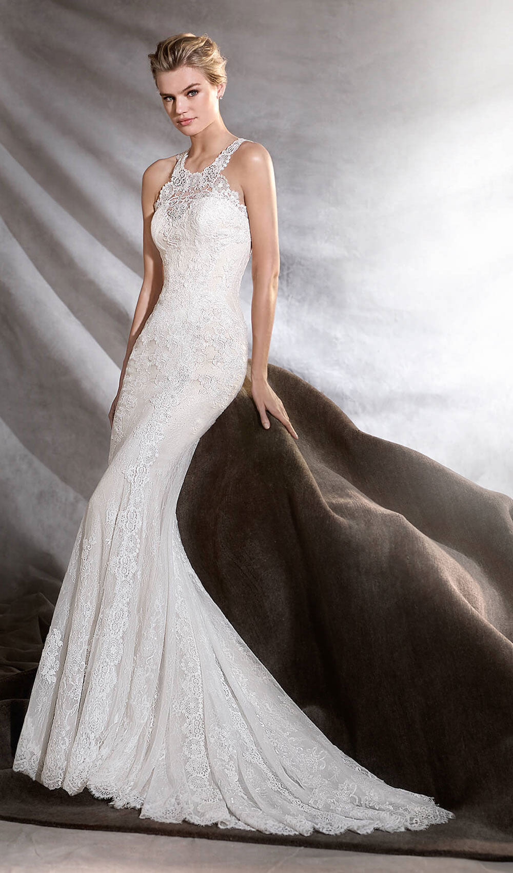 Pronovias - STYLE OSINI| Schaffer's Bridal in Des Moines, Iowa and in Scottsdale, Arizona