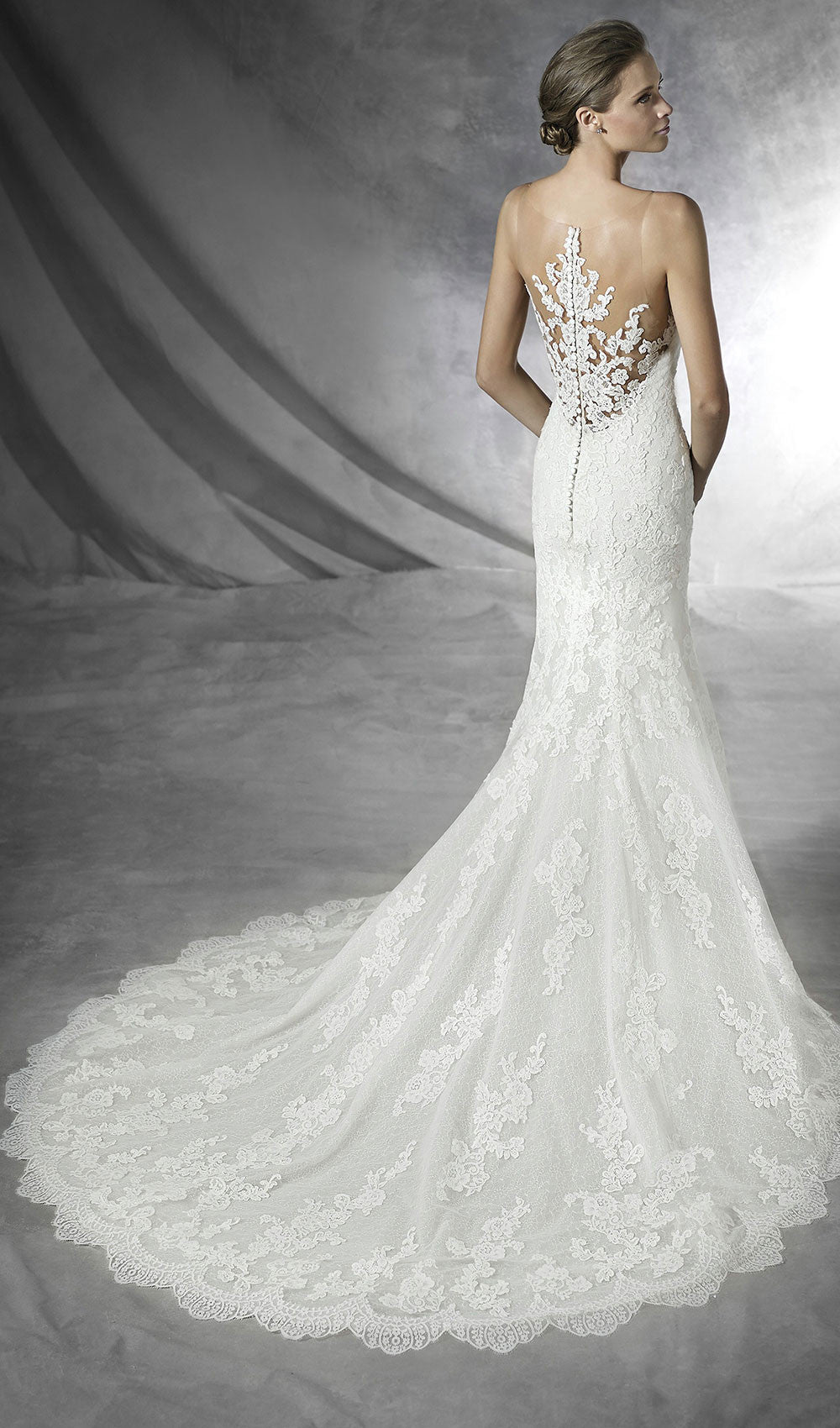 Pronovias - STYLE PLACIA |Schaffer's Bridal in Des Moines, Iowa  and in Scottsdale, Arizona