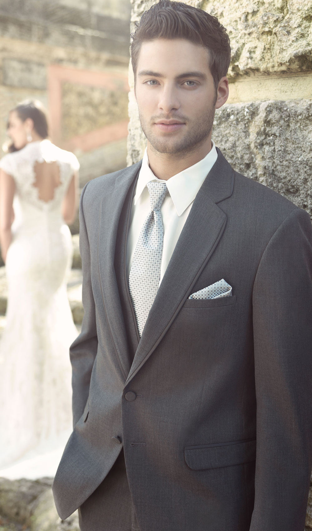 Allure Men - STYLE CHARCOAL GREY ALLURE Allure Men- Schaffer's Bridal in Des Moines & Phoenix