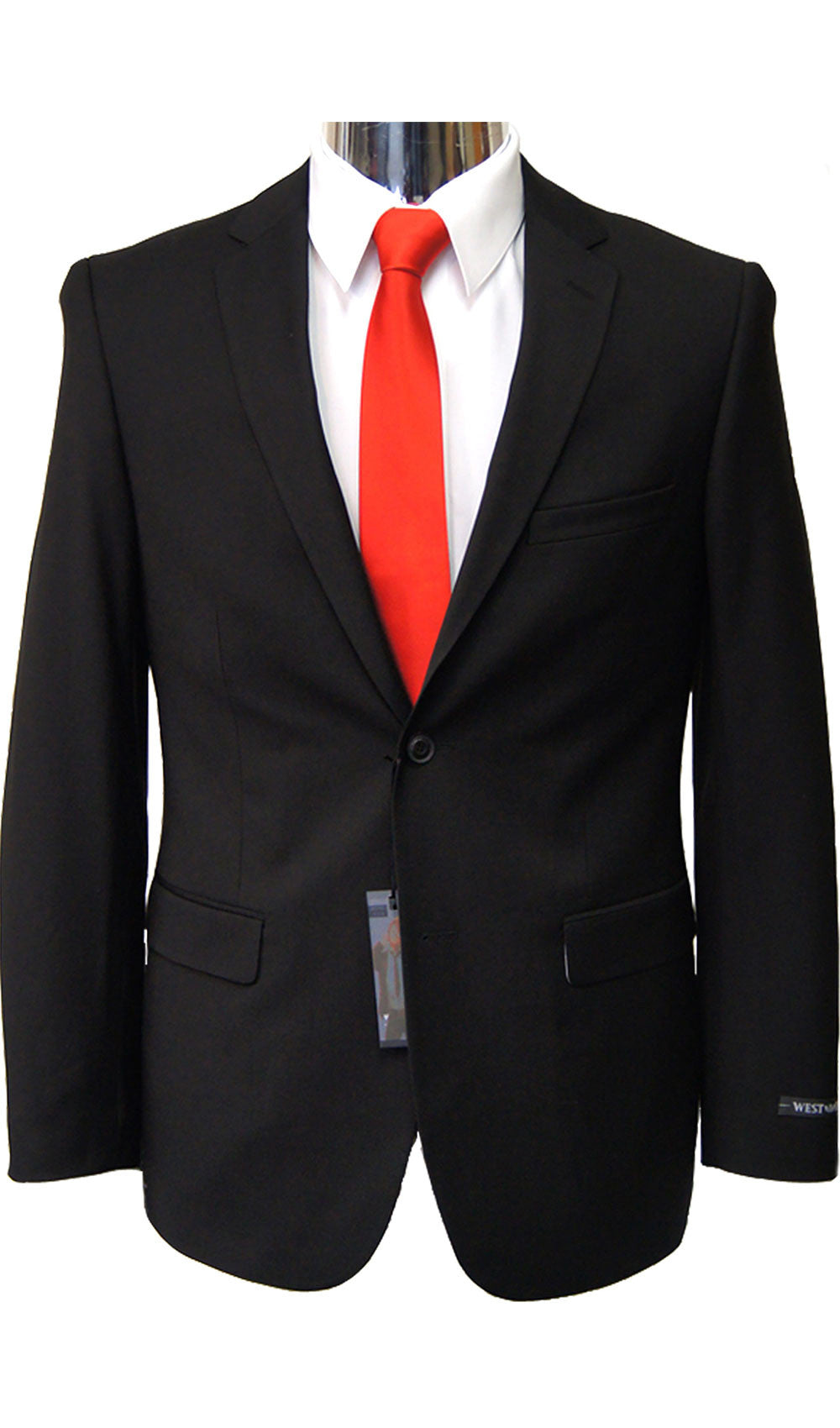 Copy of Caravelli - STYLE BLACK SLIM FIT SUIT Caravelli- Schaffer's Bridal in Des Moines & Phoenix