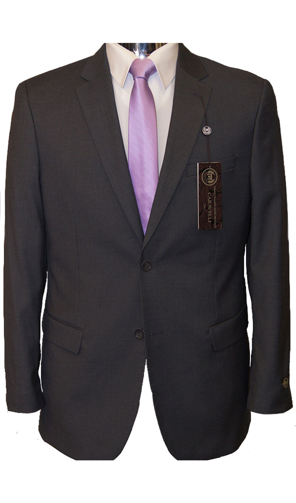 Caravelli - STYLE  DARK GREY SUIT Caravelli- Schaffer's Bridal in Des Moines & Phoenix