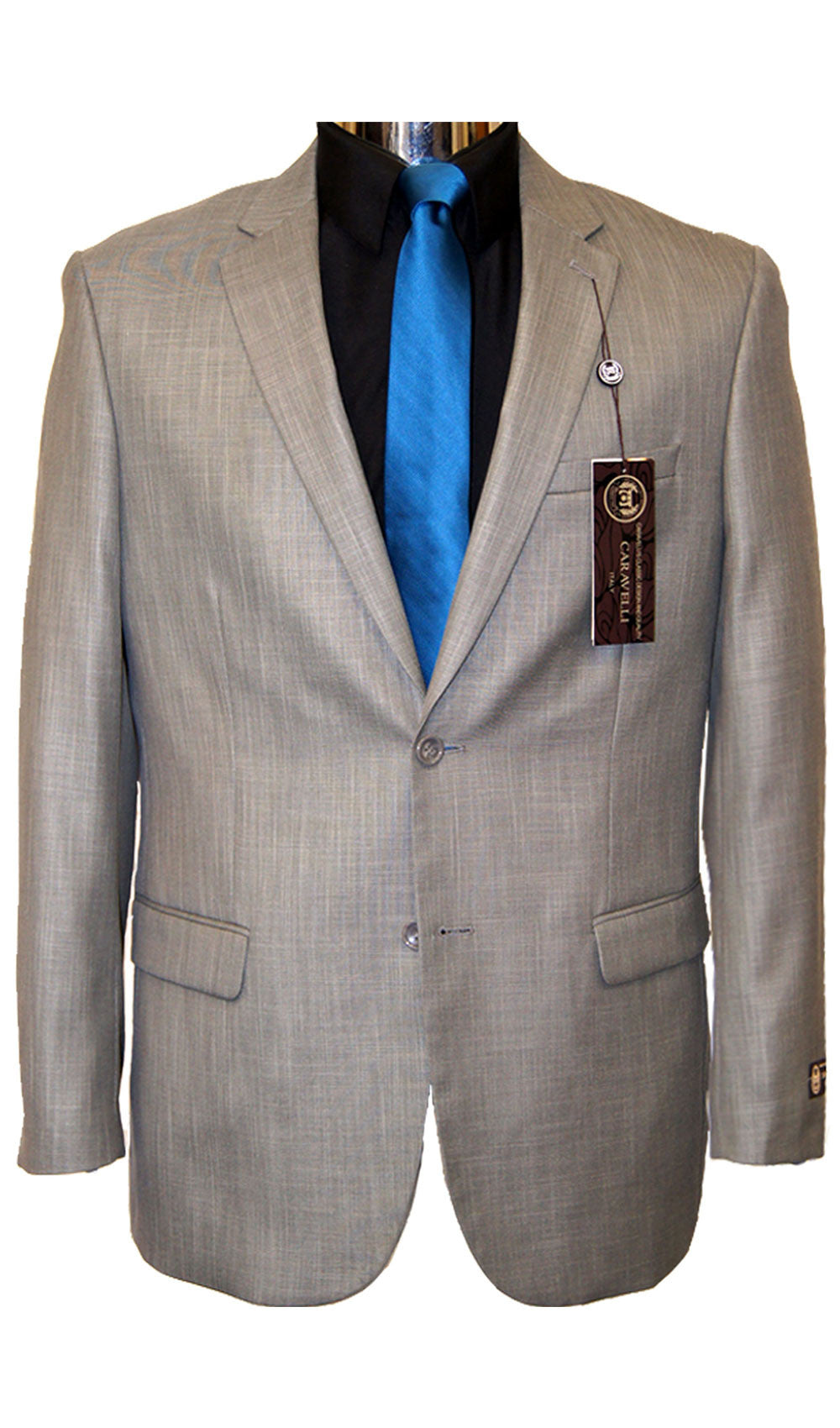 Caravelli - STYLE  LIGHT GREY SUIT Caravelli- Schaffer's Bridal in Des Moines & Phoenix