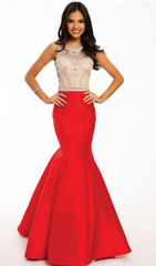 Mermaid Prom Dress | Jovani - STYLE 22623 JOVANI- Schaffer's Bridal in Des Moines & Phoenix