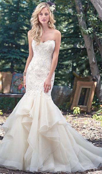 Maggie sottero style malina at schaffer 39 s in des moines for Wedding dresses in iowa