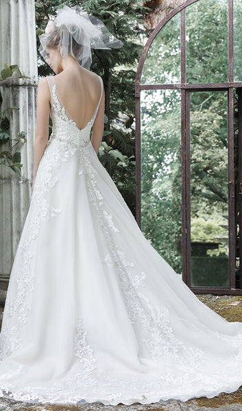 Maggie sottero style sybil at schaffer 39 s in des moines for Wedding dresses des moines