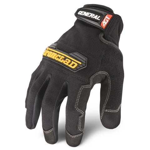Ironclad General Utility Gloves 12 pack - Black