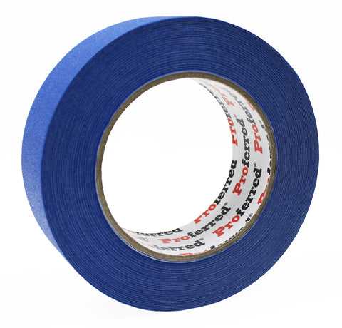 PROFERRED BLUE PAINTERS TAPE Case of 36 - 1.41IN X 60YD (55M), 0.13MM (5.1MIL)  - Case of 36 - FastenerExpert.us