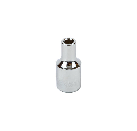 "1/4"" DRIVE METRIC SOCKET 6 pack - 12 MM STANDARD 6 Point"