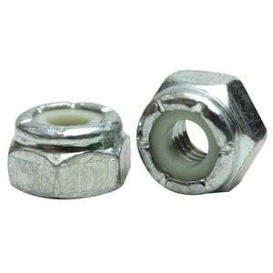 3/8-16 Nylon Insert Locknut 18-8 Stainless Steel 100 pack