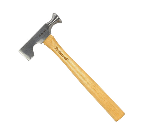PROFERRED HAMMER - DRYWALL, MILLED FACE, HICKORY (12 OZ) - FastenerExpert.us