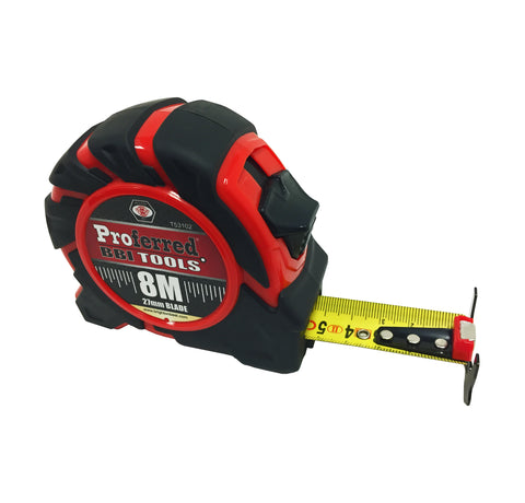 PROFERRED TAPE MEASURE - 8 M-27 MM BLADE - FastenerExpert.us