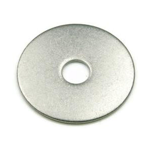 "1/4"" Fender Washer 18-8 Stainless Steel 1000 pack"